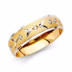 Other - 14k yellow gold Wedding band sz 8 9 10 11 12 13